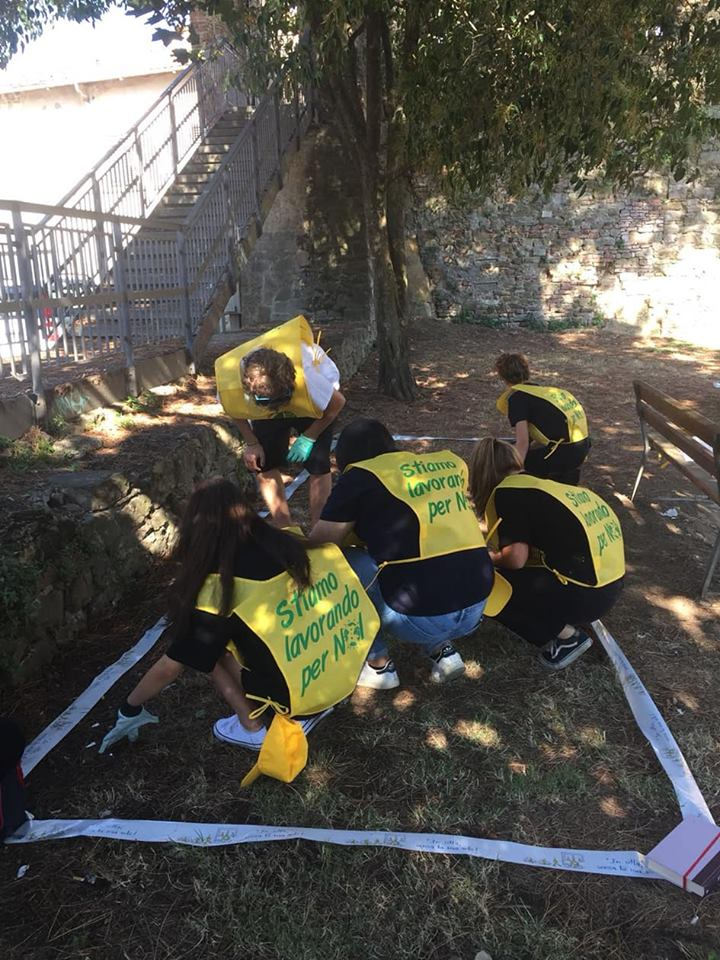 Monitoraggio sui rifiuti al Parco dell'Ancorina